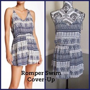 """Romper / Cover Up """"Summer Vibes"""" XS-SM"""